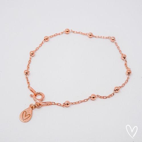 anchor bracelet rose gold