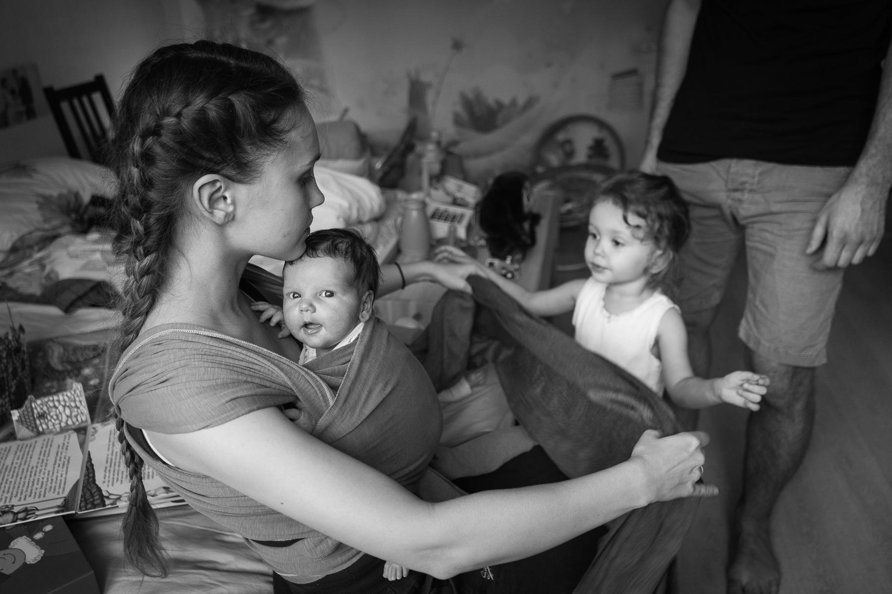 лайфстайл-фотограф новорожденных