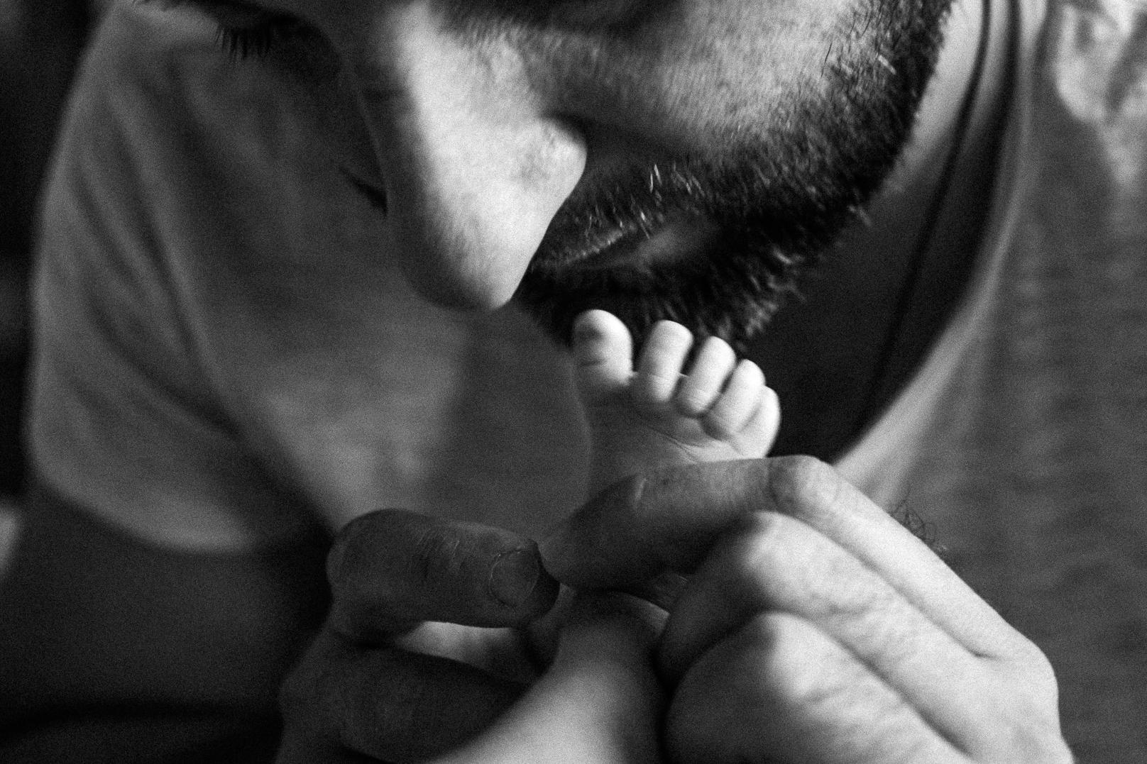 фотосессия новорожденных лайфстайл