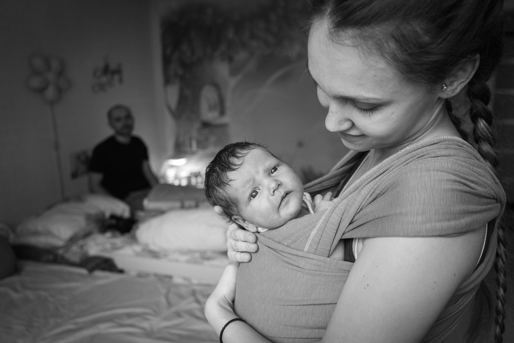 лайфстайл фотосессия новорожденных