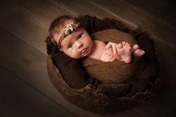 фотосессия новорожденных в студии
