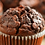 Thumbnail: Double chocolate chip muffin 4 pcs