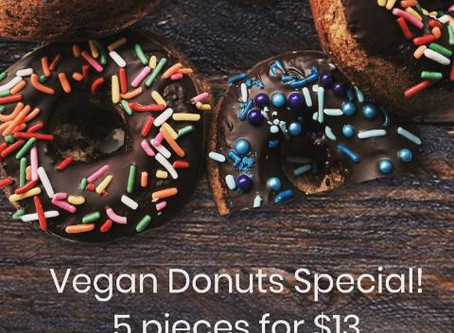 Vegan Chocolate Donuts in Summer Special!!