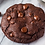 Thumbnail: Double Chocolate chip cookies 12 pcs