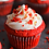 Thumbnail: Mini Red velvet cupcake 12 pcs