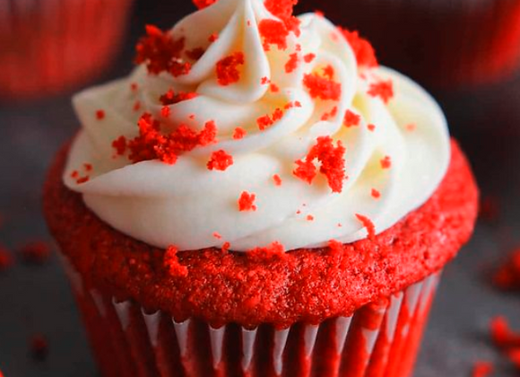 Mini Red velvet cupcake 12 pcs
