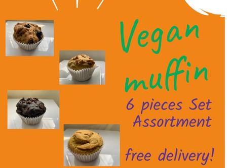 Plant based Vegan Muffin on Sale !!