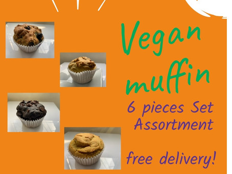 Plant based Vegan Muffin on Sale !!