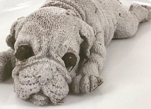 Mini Puppy Dark Chocolate Mousse Cake 6 inch