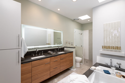 Contemporary-Gray-Bathroom