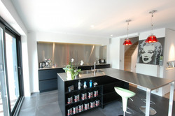 modern-stainless steel-kitchen