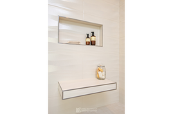 Contemporary-Shower-with-Floating-Shelf.