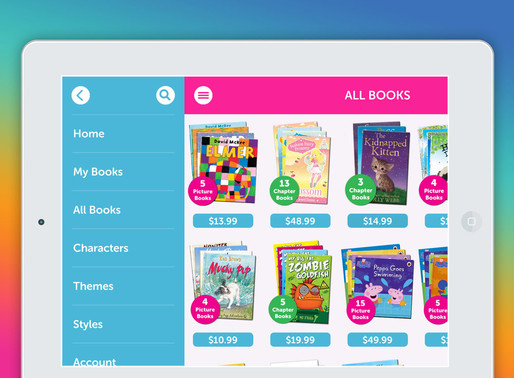 Me Books - LIVE in the app store!