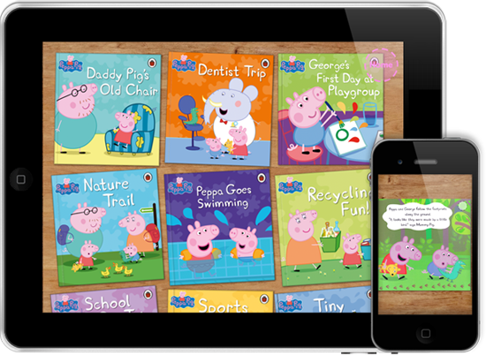 Peppa Pig - Me Books App