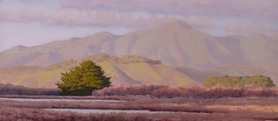 Gabriel Islas: Atmospheric paintings of local California landscapes