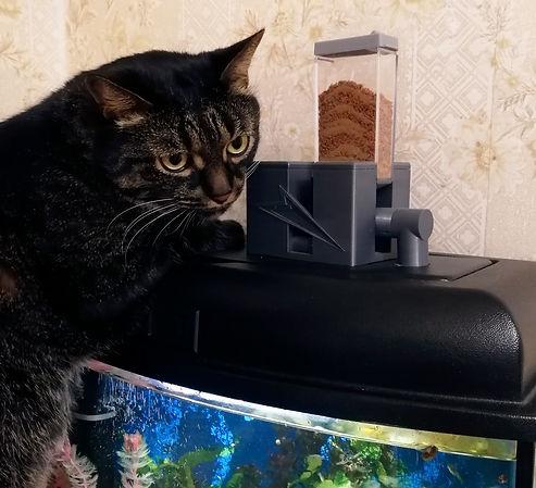 Автоматическая кормушка для рыбок