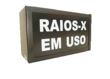 """SINALEIRO """"RAIOS X EM USO"""""""