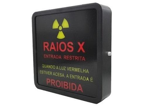 """SINALEIRO """"RAIOS X ENTRADA RESTRITA"""""""