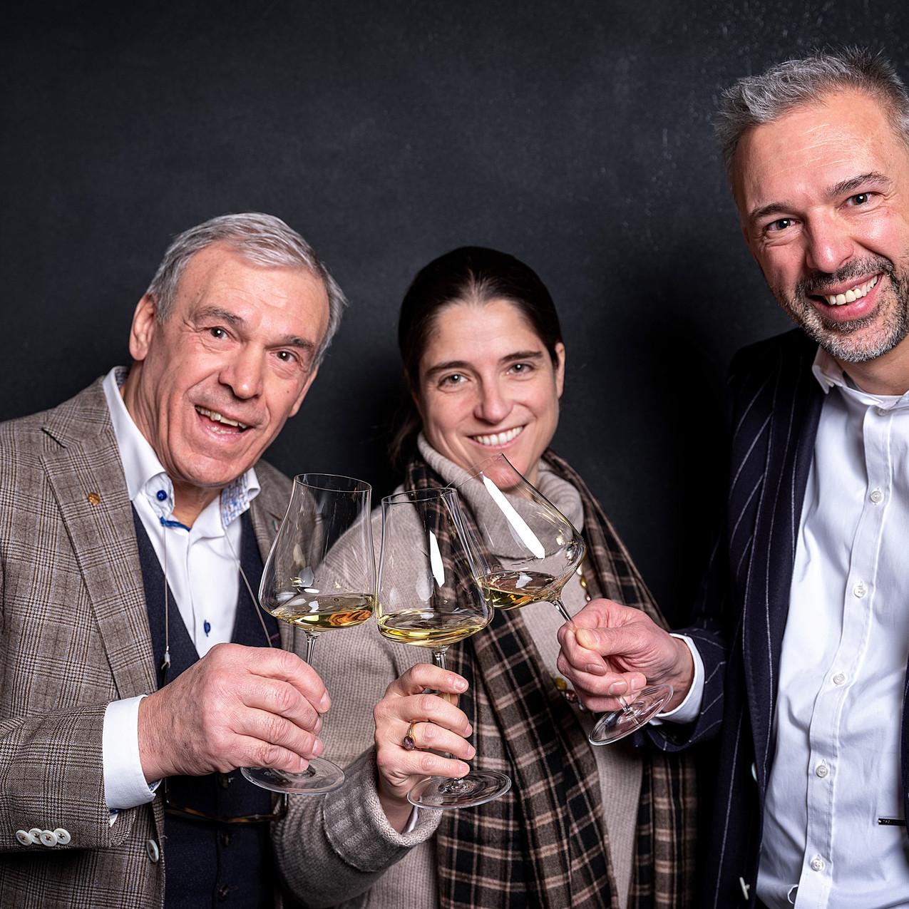 Calogero, Priscilla en Laurent