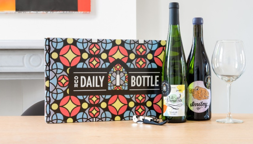 De box van Our Daily Bottle
