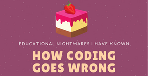 How Coding Goes Wrong