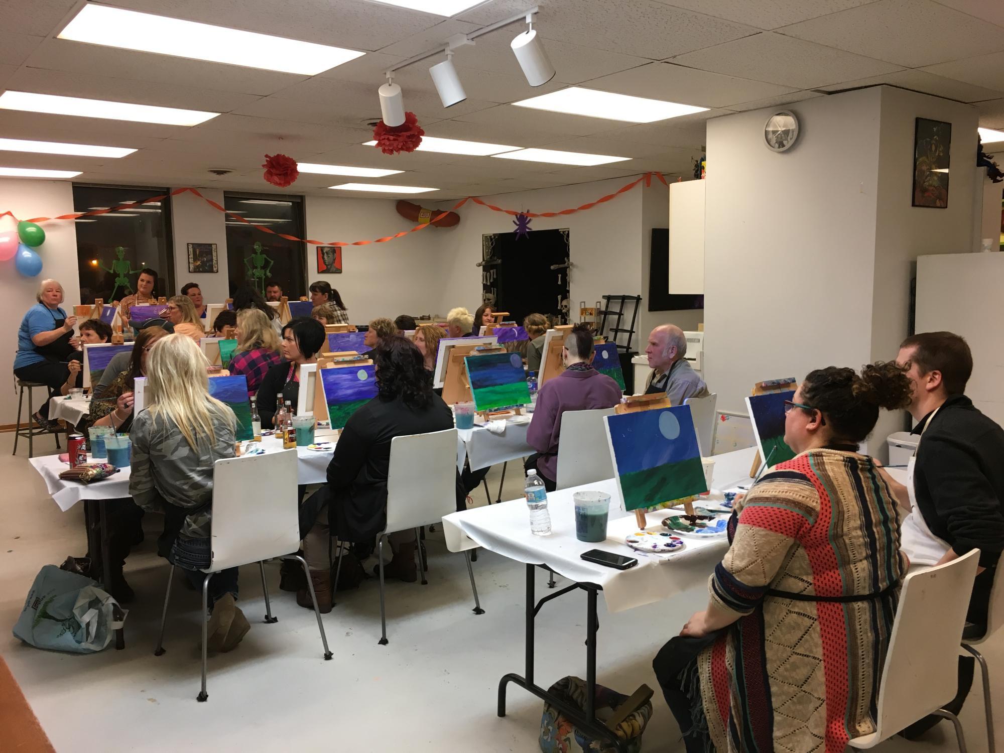 School & Non Profit Paint Events