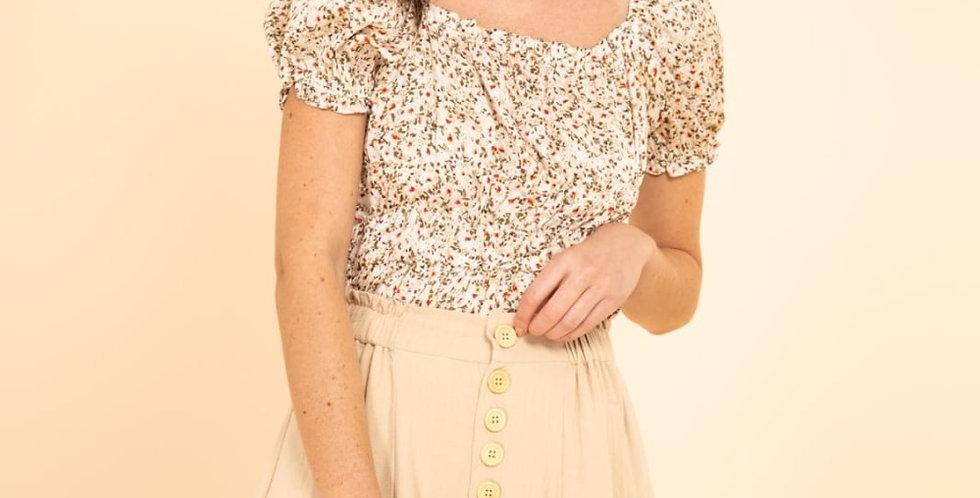 Mollie Floral Top