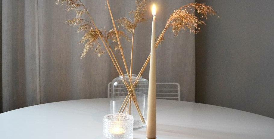Taper Candles - 22cm (2 PCS)