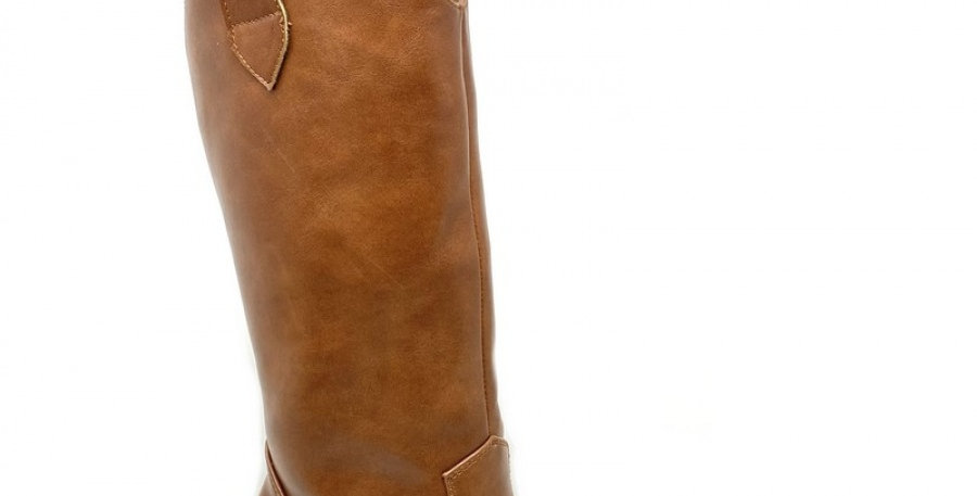 Knee Boots - Camel
