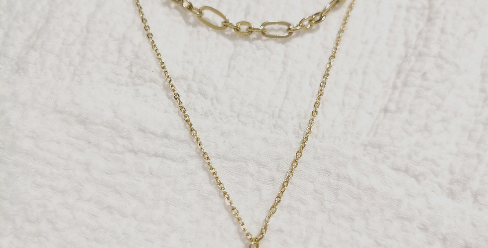The Star - Double Necklace