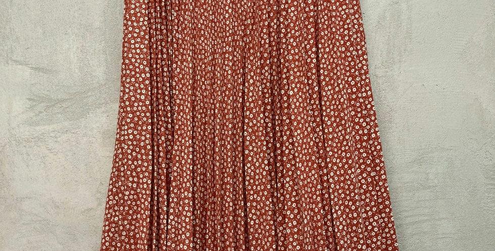 Midi Skirt Rouge