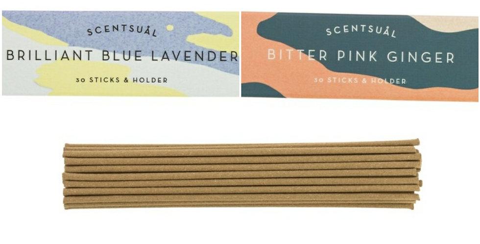 Scentsual Incense Sticks - 3 scents