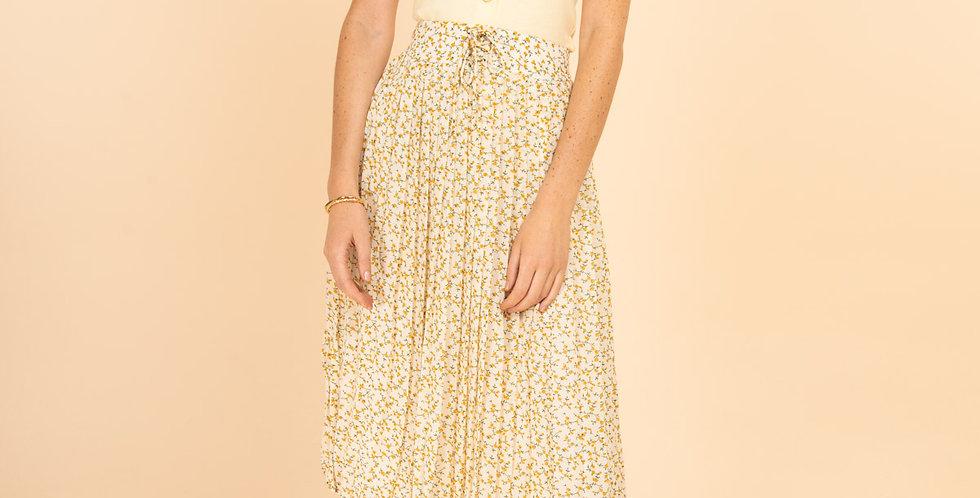 Jaune Midi Skirt