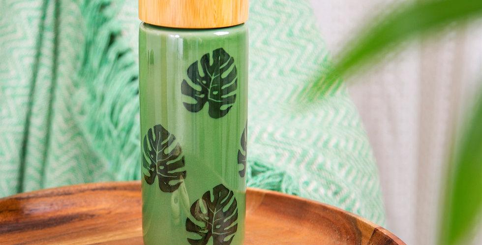 Cheese Plant Ceramic Bottle
