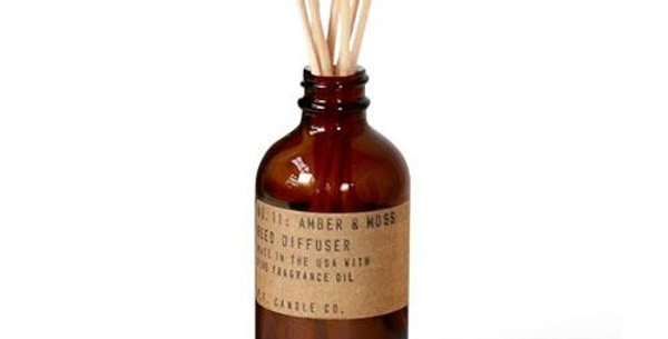 P.F. CANDLE CO. NO. 11 AMBER AND MOSS REED DIFFUSER