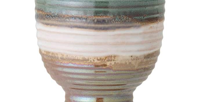 Flowerpot, Green, Stoneware