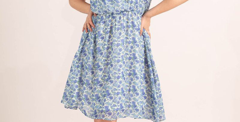 Blue Dress Liya