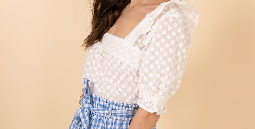 Rosie Embroidered Blouse
