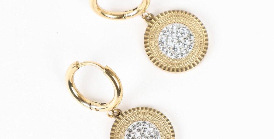 Gold Maria Earrings