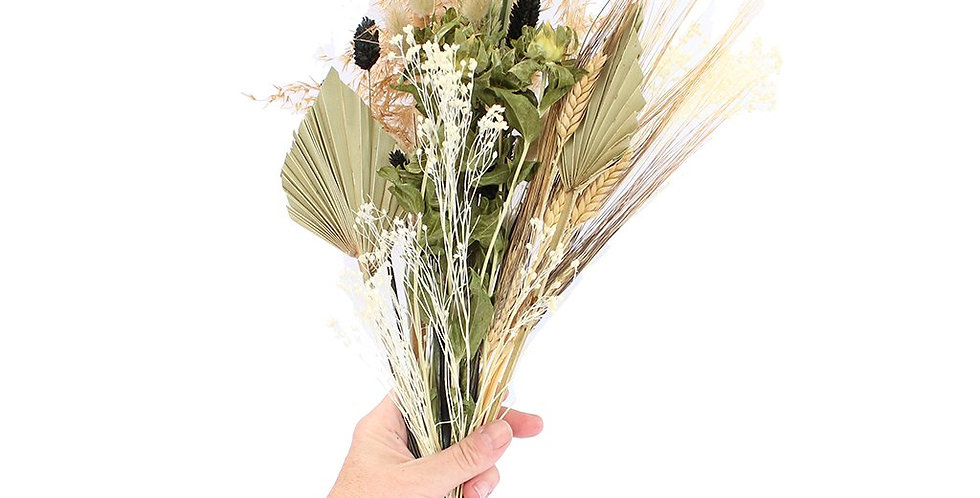 Wildflower Dried Flower Bouquet, Natural - COLLECTION ONLY