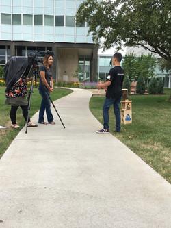 3M Newsroom Video Behind the Scenes #1