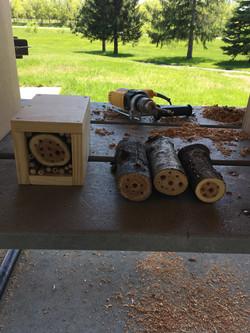 Lakeville Scouts Workshop Bee House Design