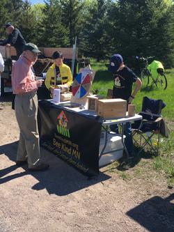 Sunfish Lake Arbor Day Green Fair with Mayor of Sunfish Lake