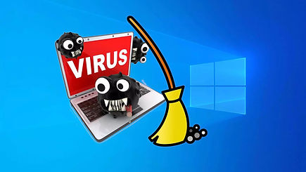 Virus pc boissiere informatique montaigu