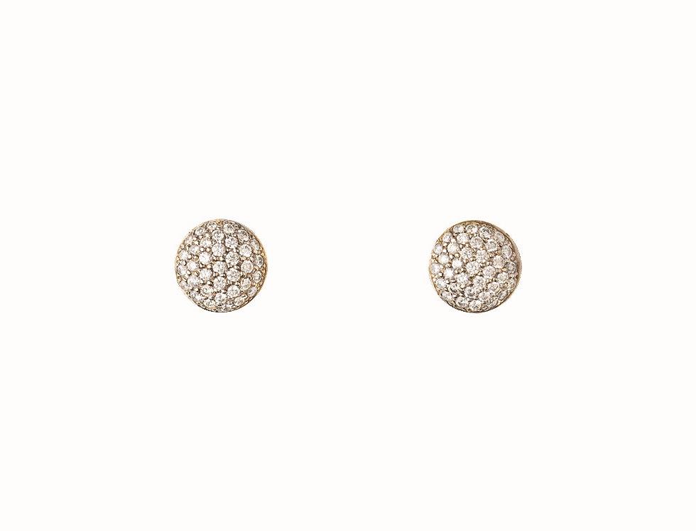 Solstice Diamond Stud Earrings