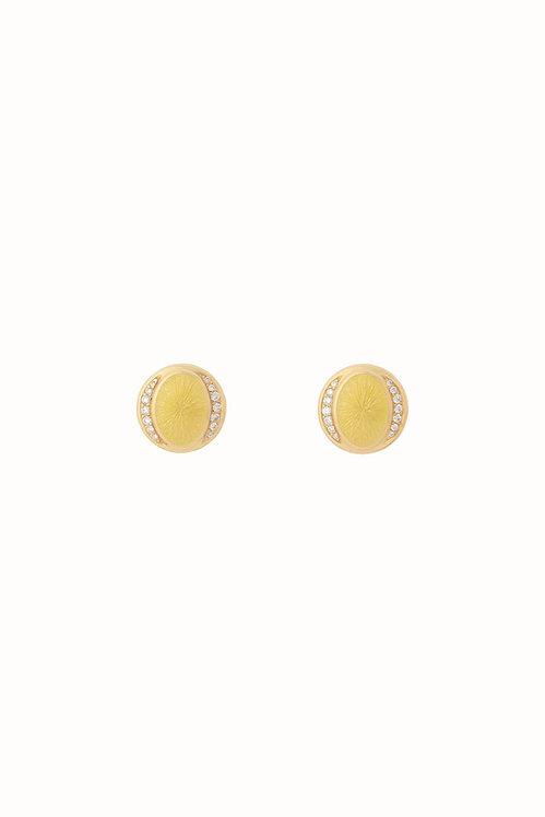 Ellipse Lemon Drop Diamond Earrings
