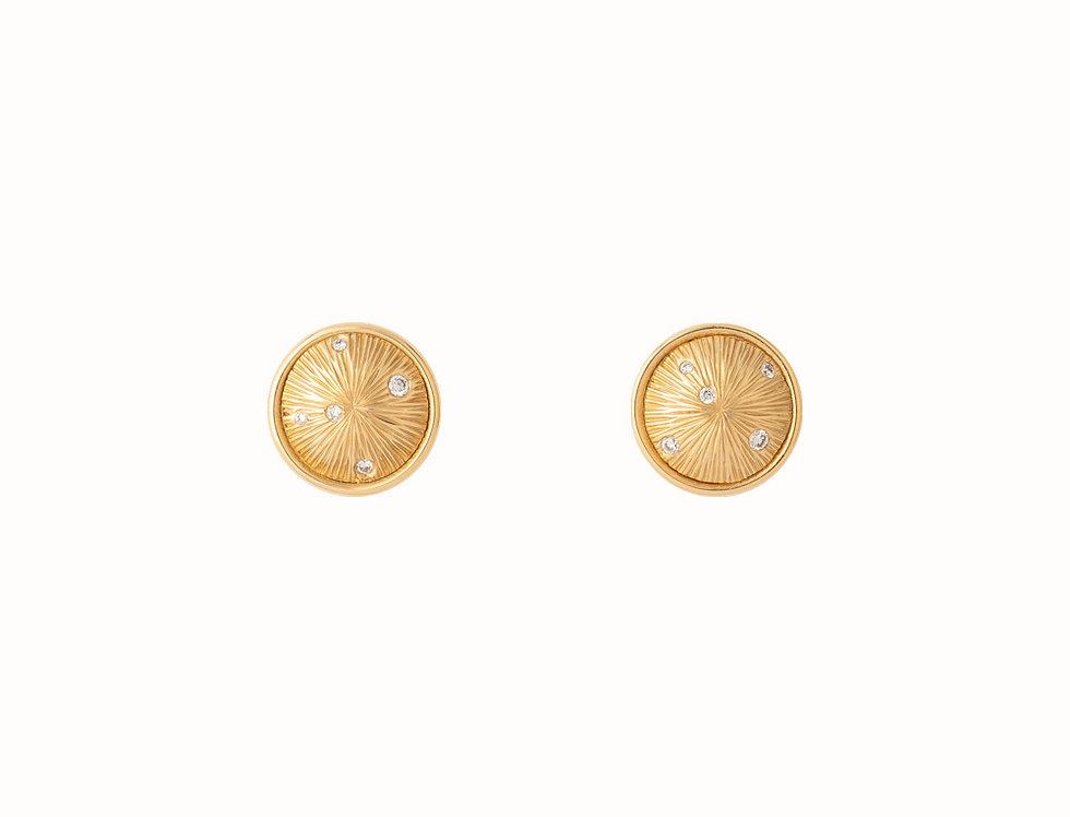 Constellation Diamond Scattered Stud Earrings