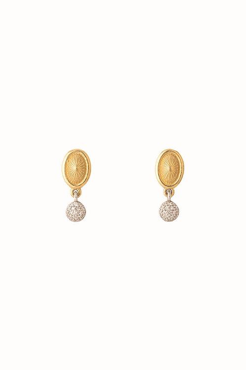 Solstice Double Drop Earrings