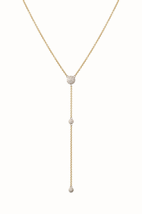 Solstice Diamond Triple Drop Pendant