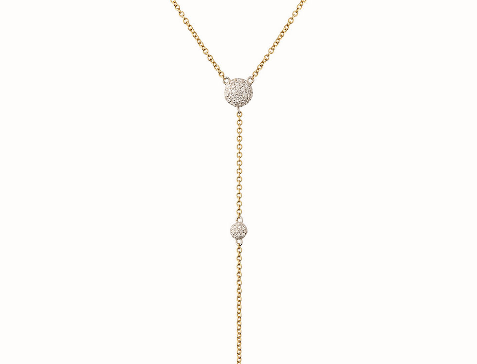 Solstice Diamond Triple Drop Pendant